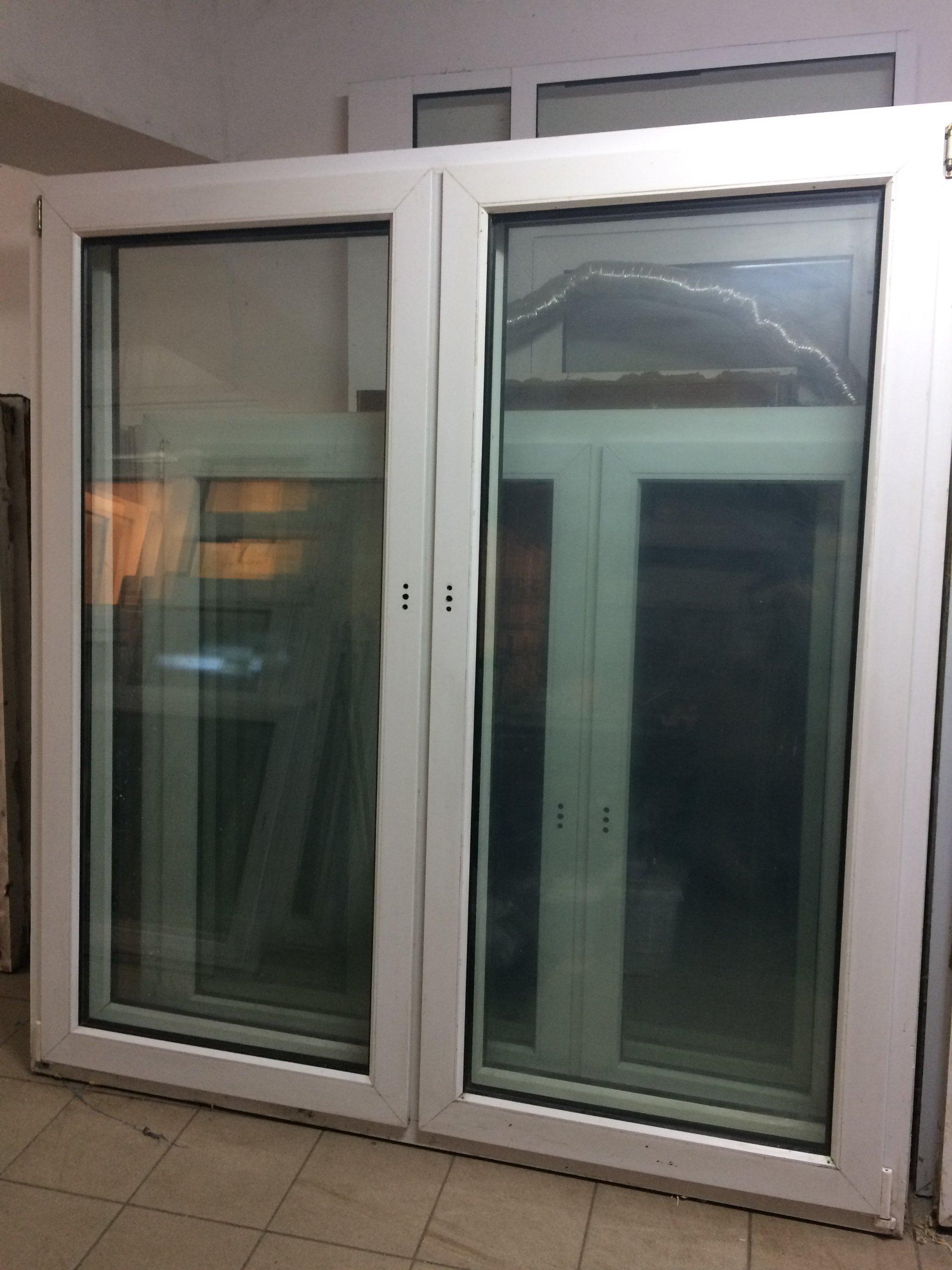 Drzwi Balkonowe Okno Pcv Używane 162x222 Hit 7211133145