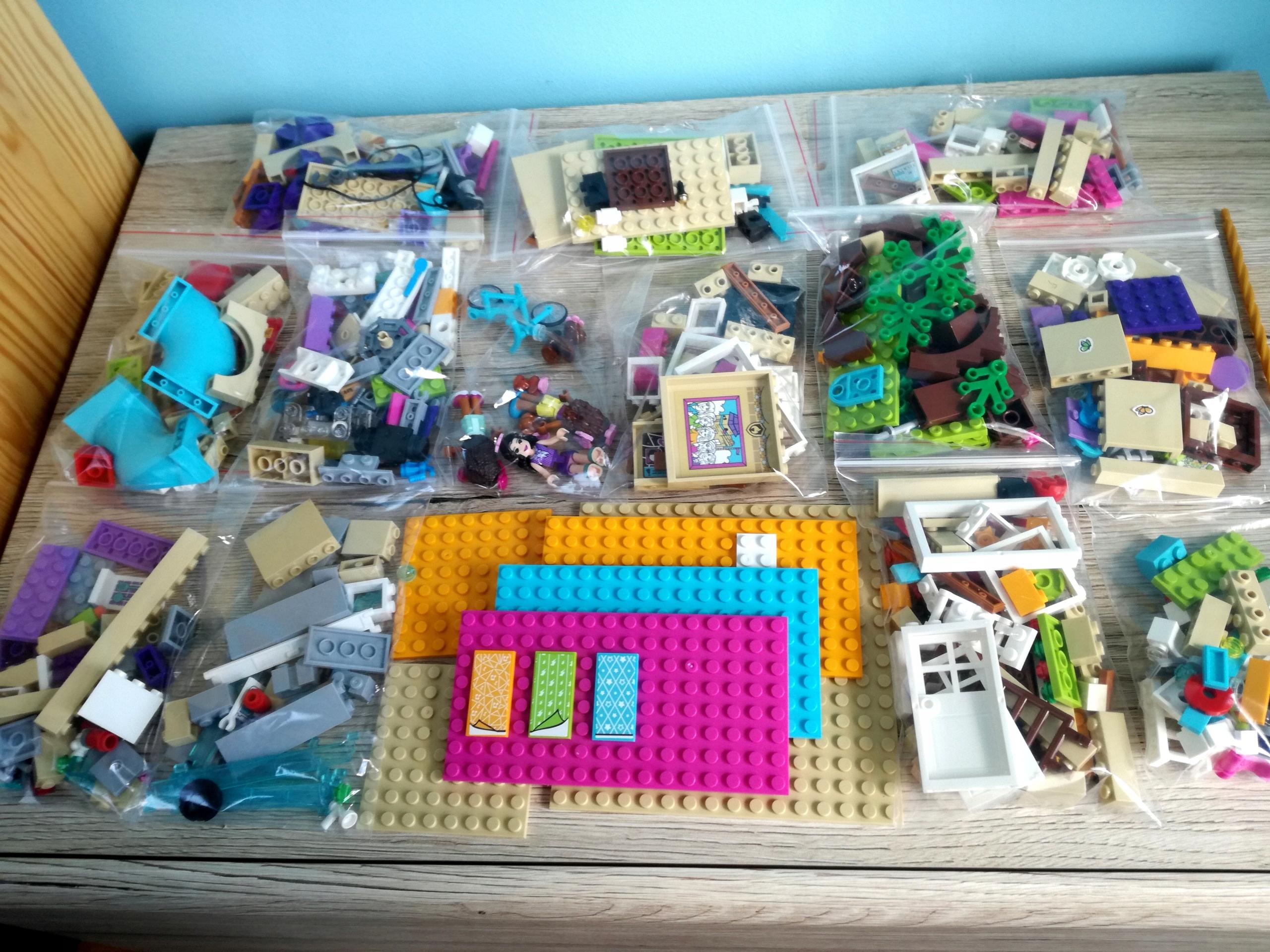 Klocki Lego Friends Dom Przyjaźni 800 Sztuk 7689154936 Oficjalne