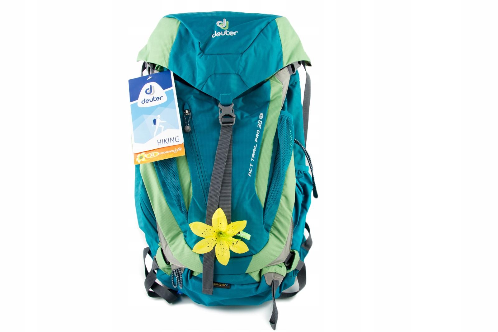 2cf2dcfb7bd24 Plecak DEUTER ACT TRAIL PRO 38 damski trekkingowy - 7521541864 ...