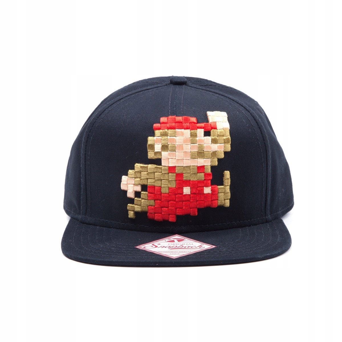 Czapka Snapback Pixel Mario - Nintendo - 7405180830 - oficjalne ... 4ca50f7533b5