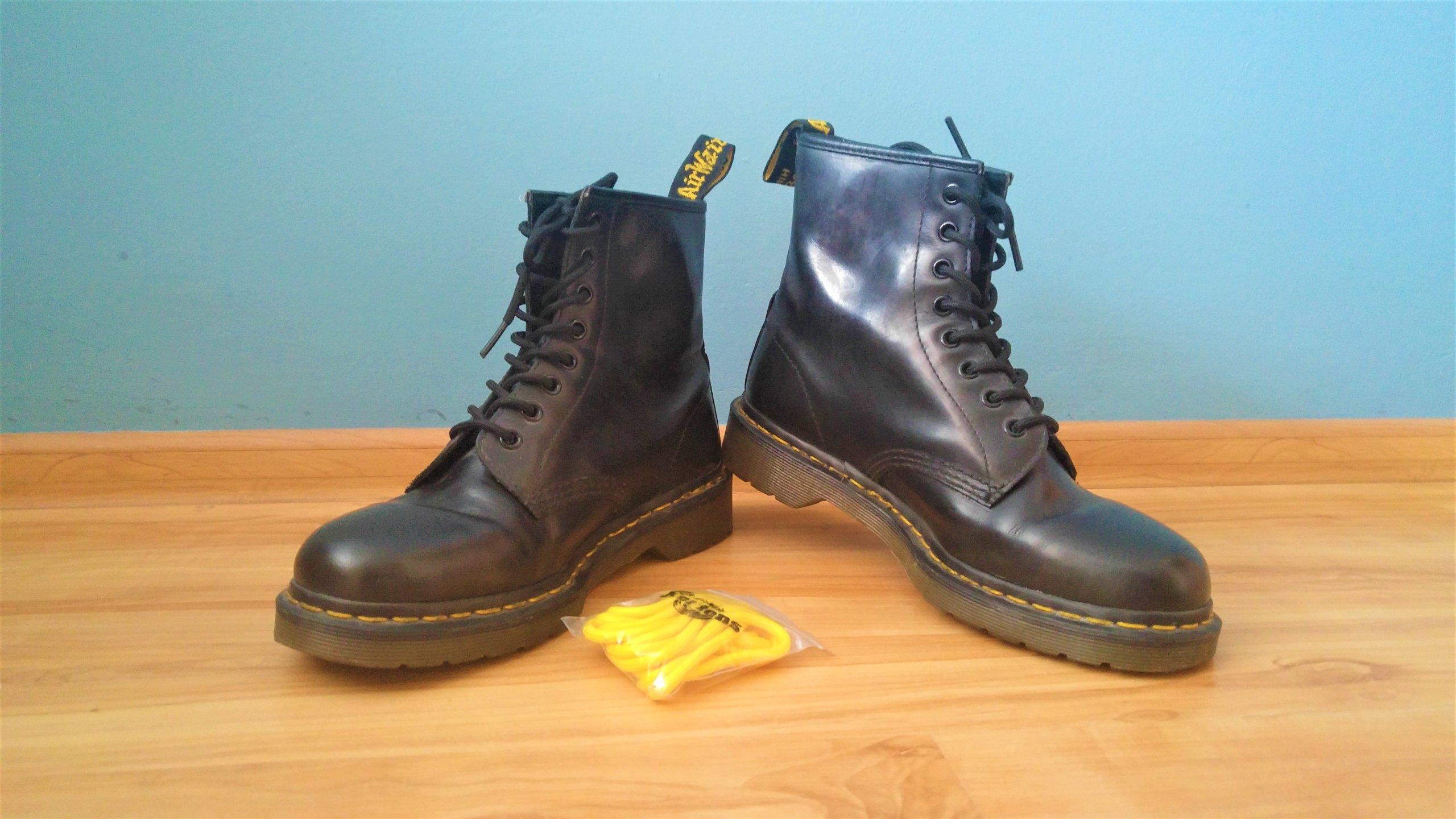 eleganckie buty buty do biegania wyprzedaż w sklepie wyprzedażowym Buty Dr. Martens 1460 rozmiar 41 czarne - 7400525555 ...