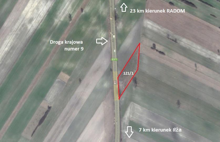 Działka inwestycyjna/sprzedaż okolice Radomia 21AR