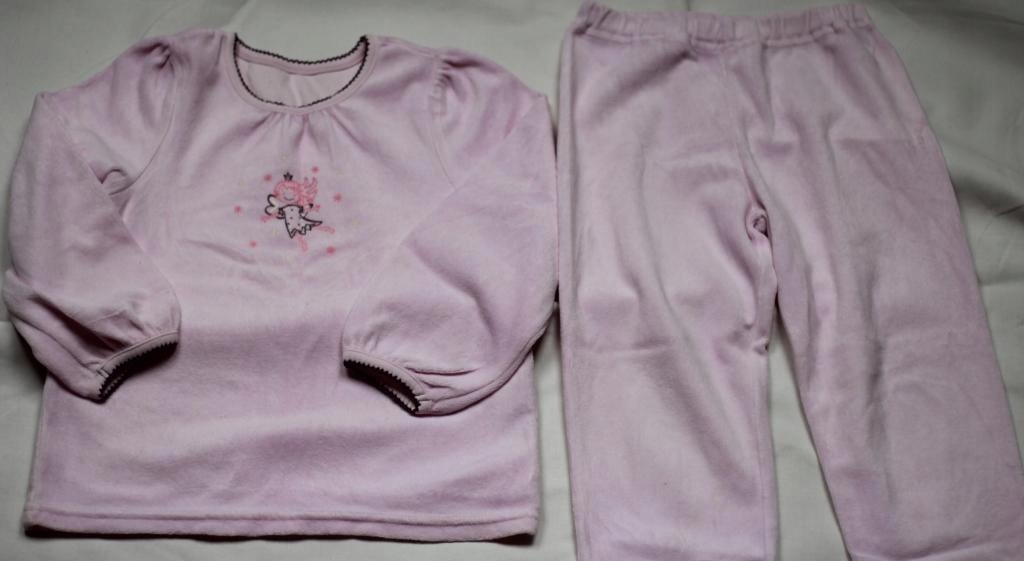 196d9874e49215 Tchibo TCM welurowa piżama - r.110/116, z wróżką - 7698206112 ...