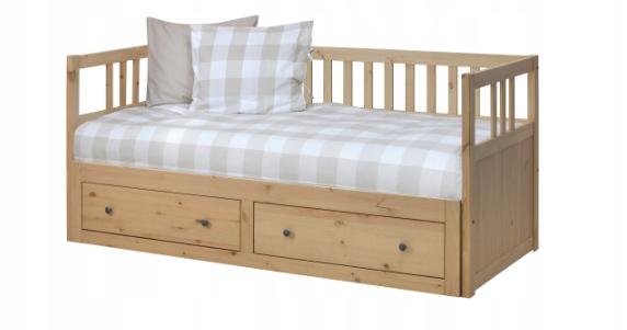 Ikea Hemnes Leżanka Rama łóżka łóżko Rozkładane 7689039855
