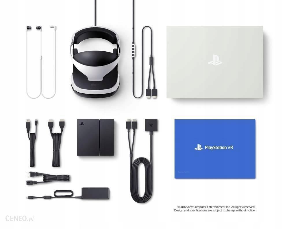 SUPER ZESTAW OKULARY PLAYSTATION VR+2xMOVE+KAMERA
