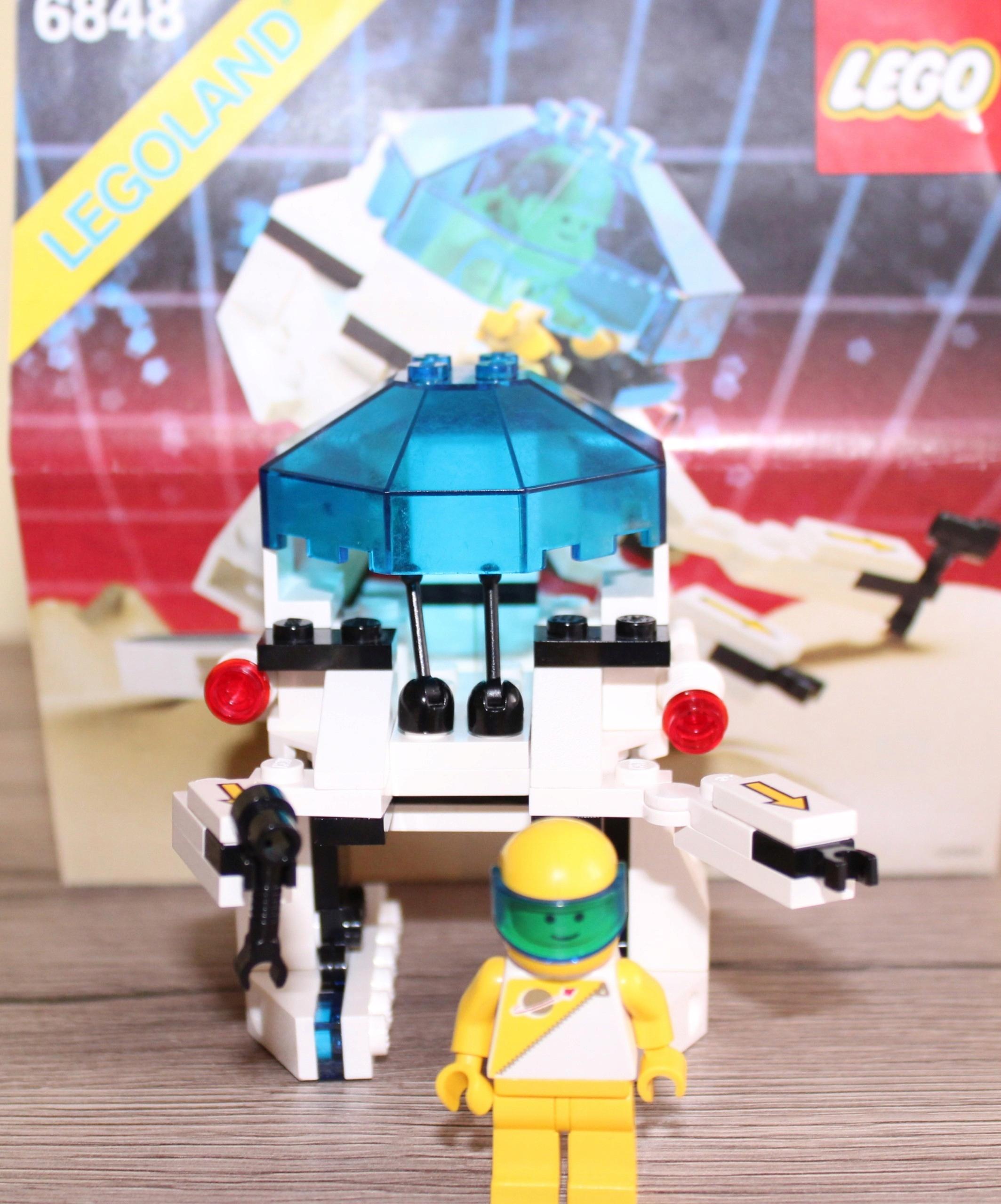 Lego 6848 2 Space Futuron Instrukcja 7434102332 Oficjalne