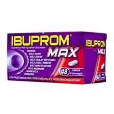 IBUPROM MAX 400 mg, 48 tabletek