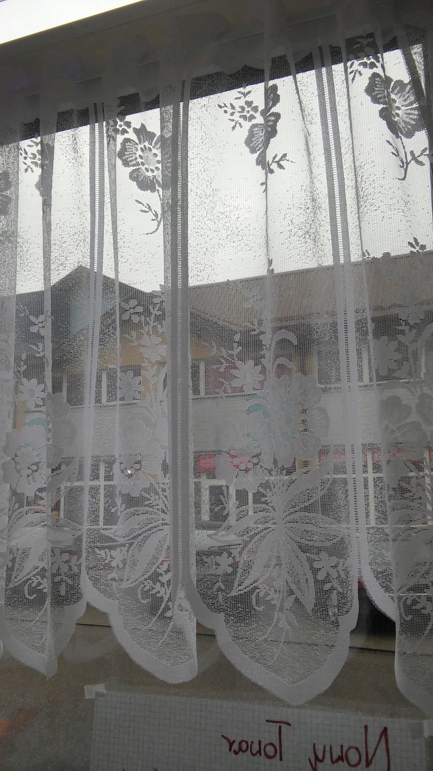 Promocja 5zł Metr Zazdrostka żakardowa 60cm 7141633967
