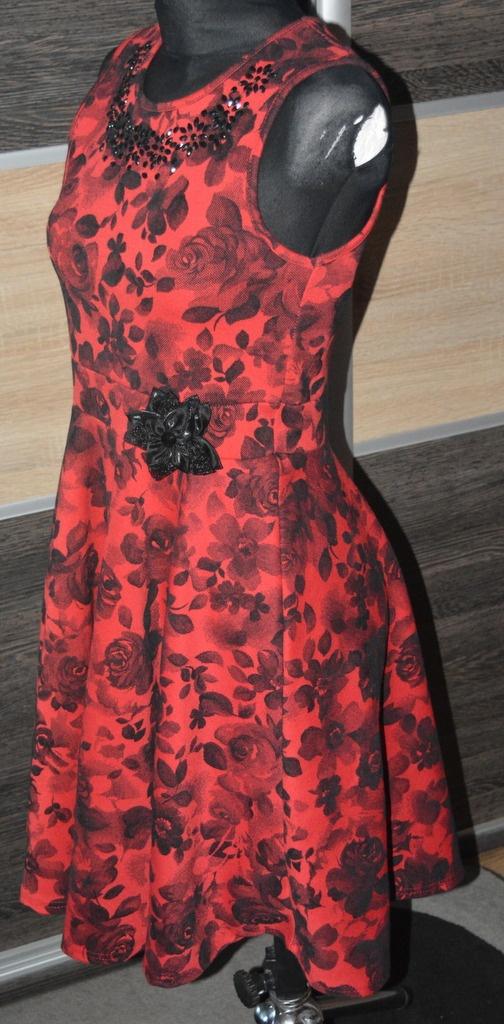 8a0079b5c8 NOW-xl  Sukienka dla dziewczynki 12 13 lat 152 158 - 7179308598 ...