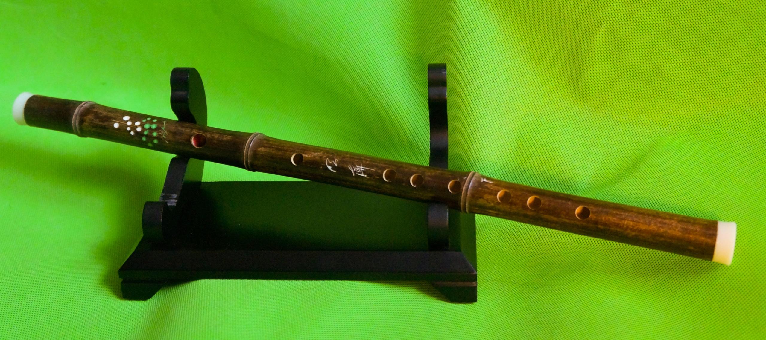 Bambusowy flet poprzeczny Yunnan F styl Dizi