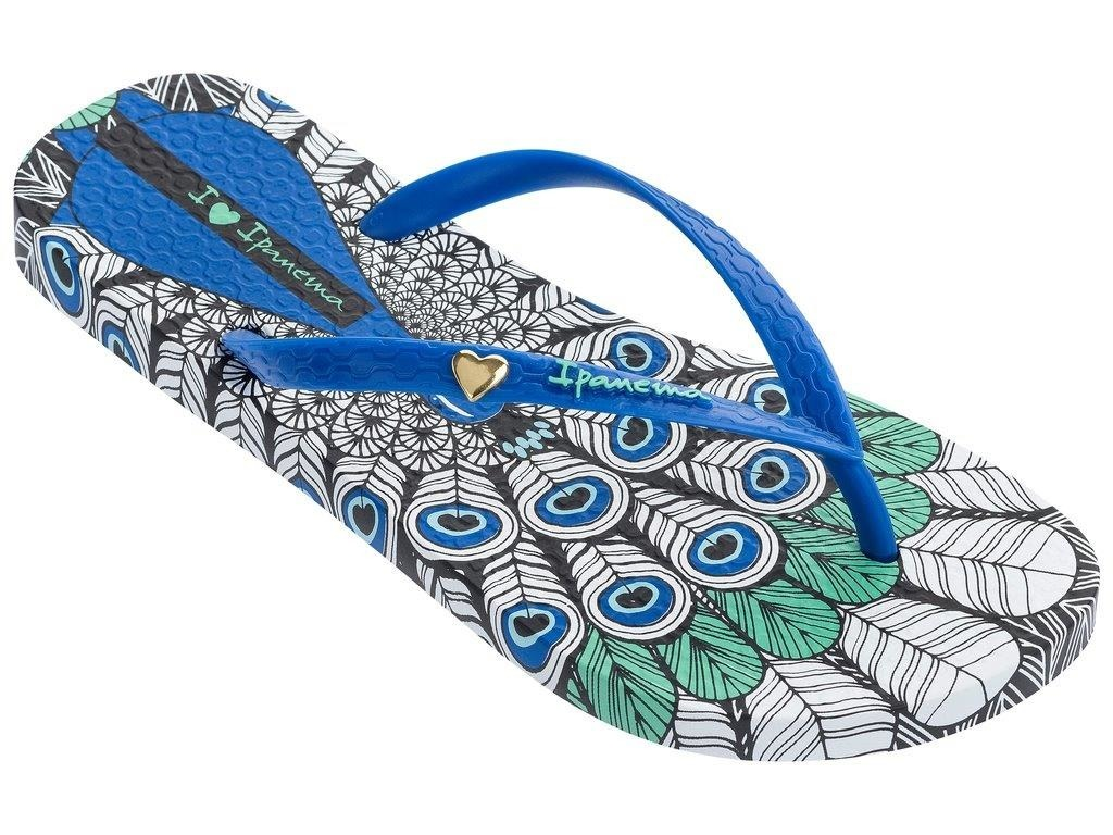 6aebc048604ba Damskie Japonki Ipanema Summer Peacock Blue~ 37 - 7222852207 ...