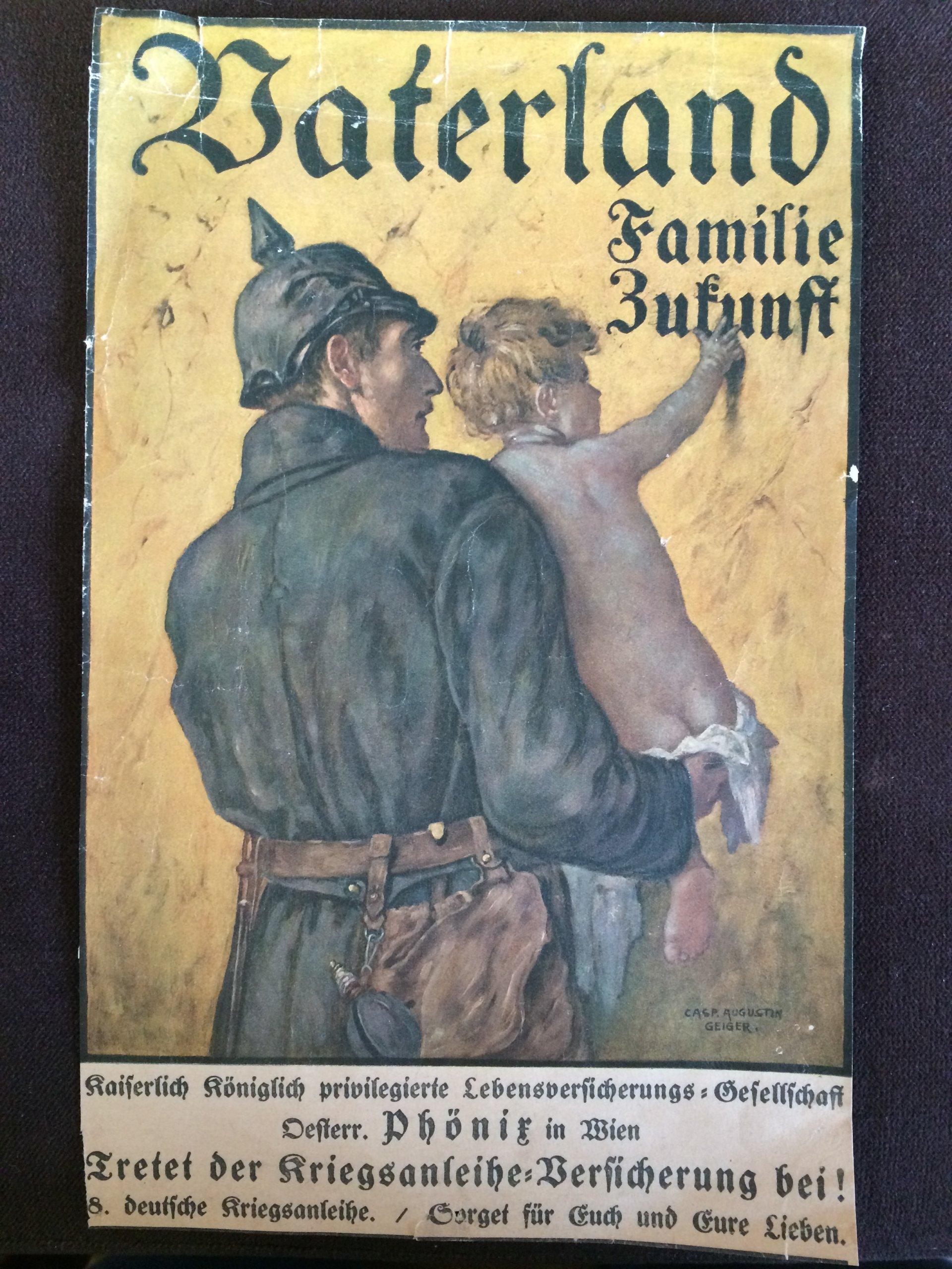 Plakat I Wojna światowa Vaterland Oryginał 7154169465