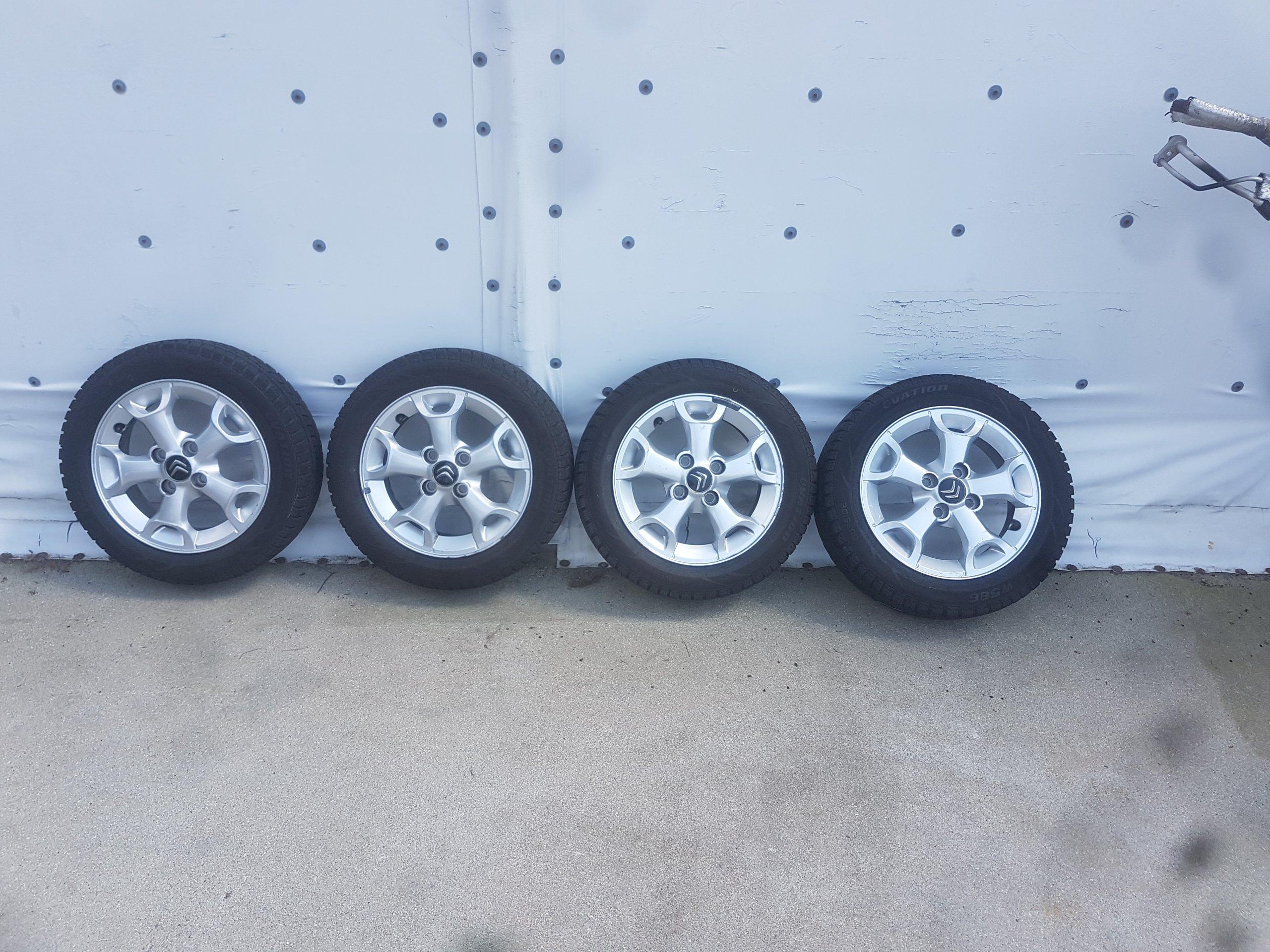 Felgi Aluminiowe Z Oponami Citroen C1 107 Aygo 7341070375