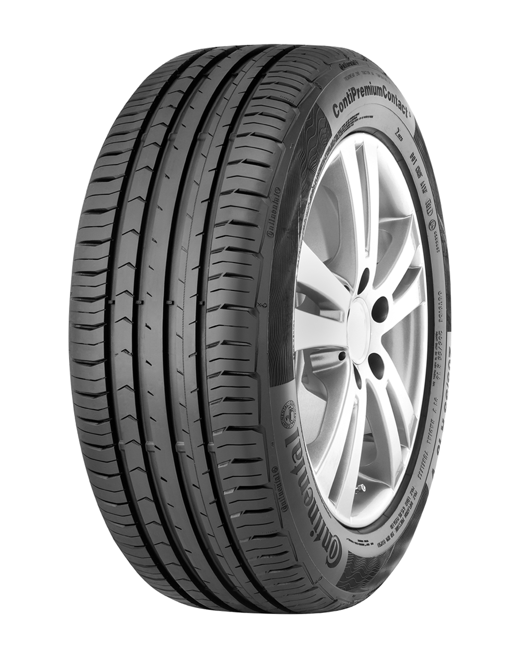 4x Continental ContiPremiumContact 5 215/65 R16 98