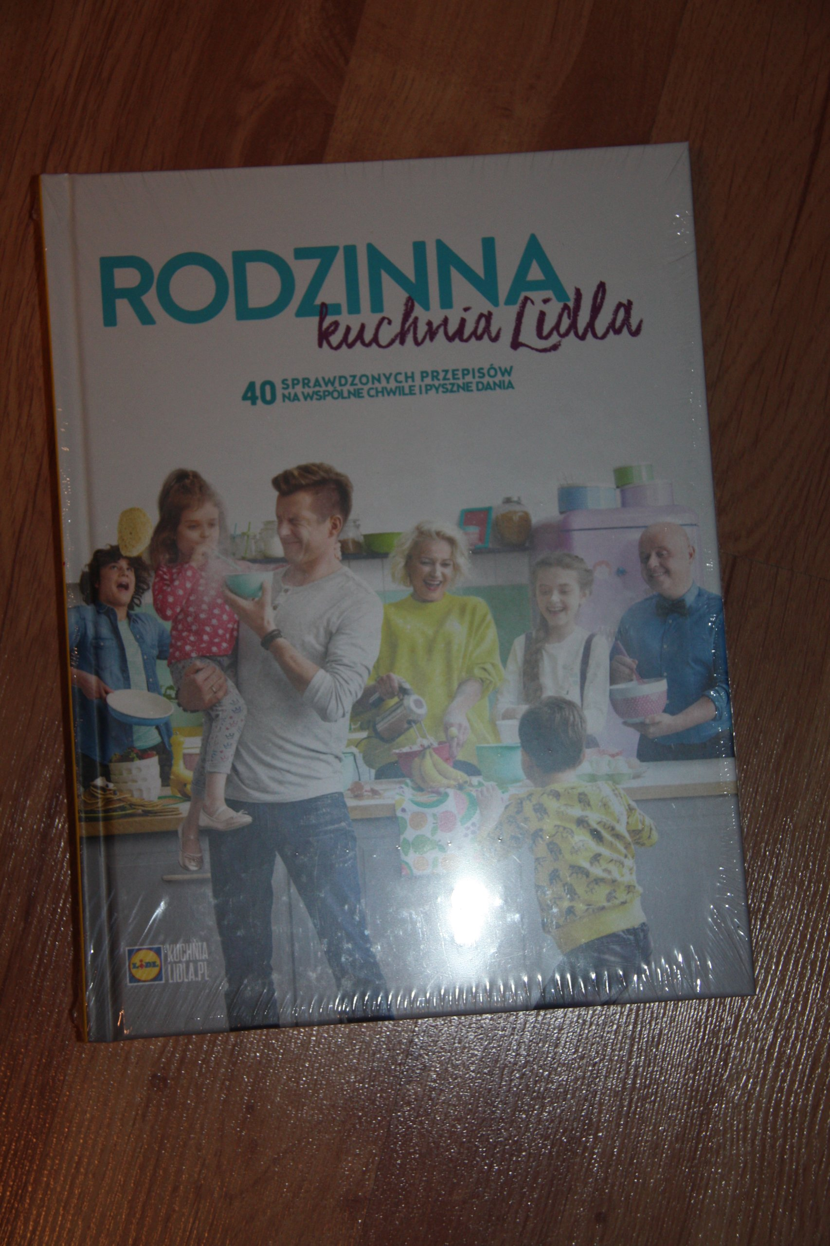 Lidl Książka Rodzinna Kuchnia Lidla Nowa 7294063050
