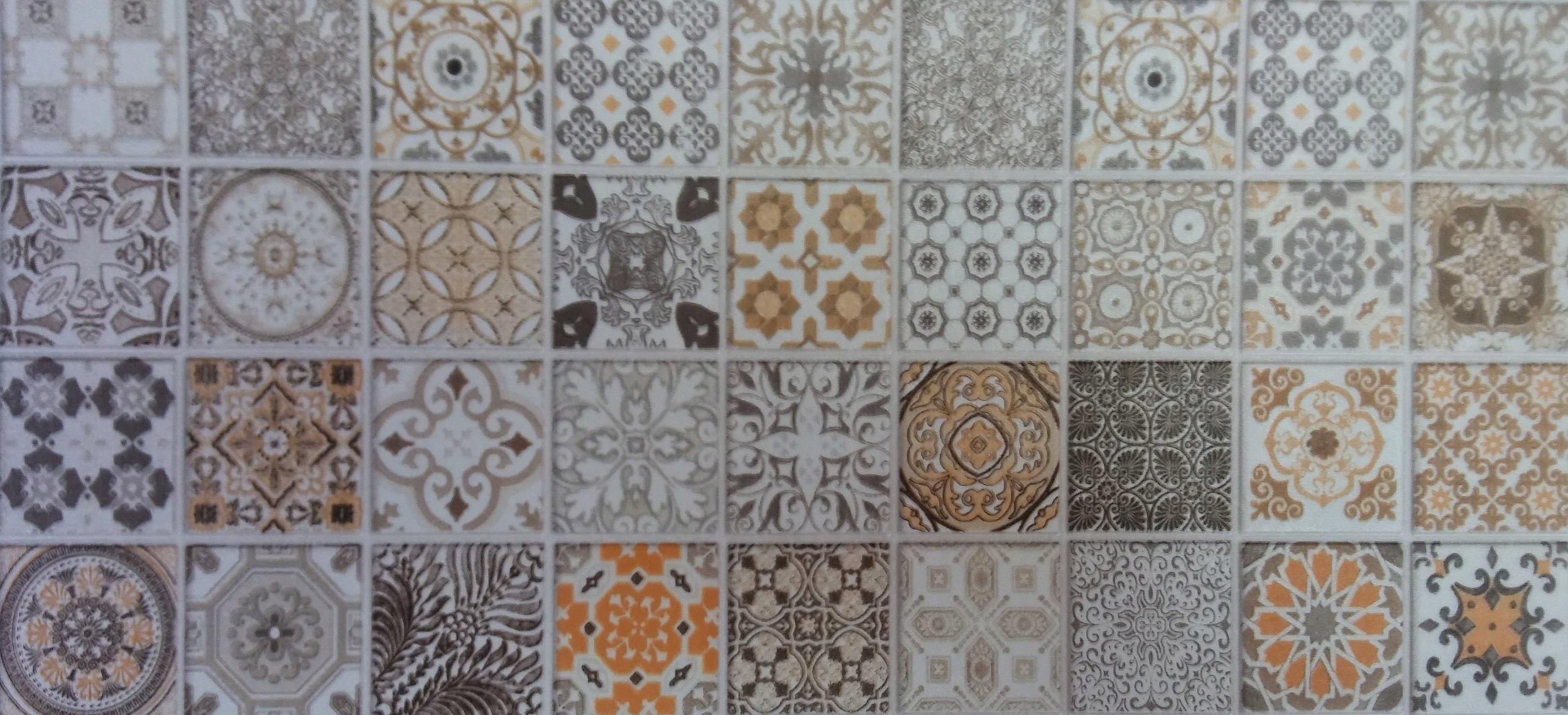 Tapeta Tapety ścienne 3ddo łazienki Kuchni Mozaika