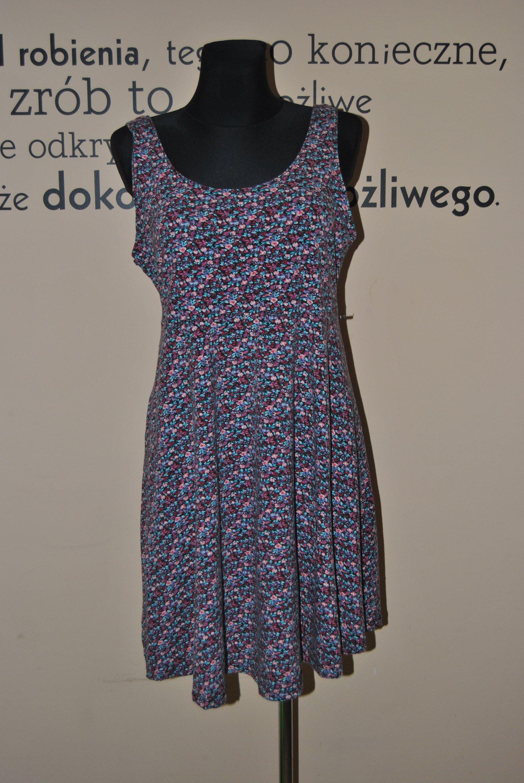 3ba8b6bb30 sukienka w kwiatki - 7199290695 - oficjalne archiwum allegro