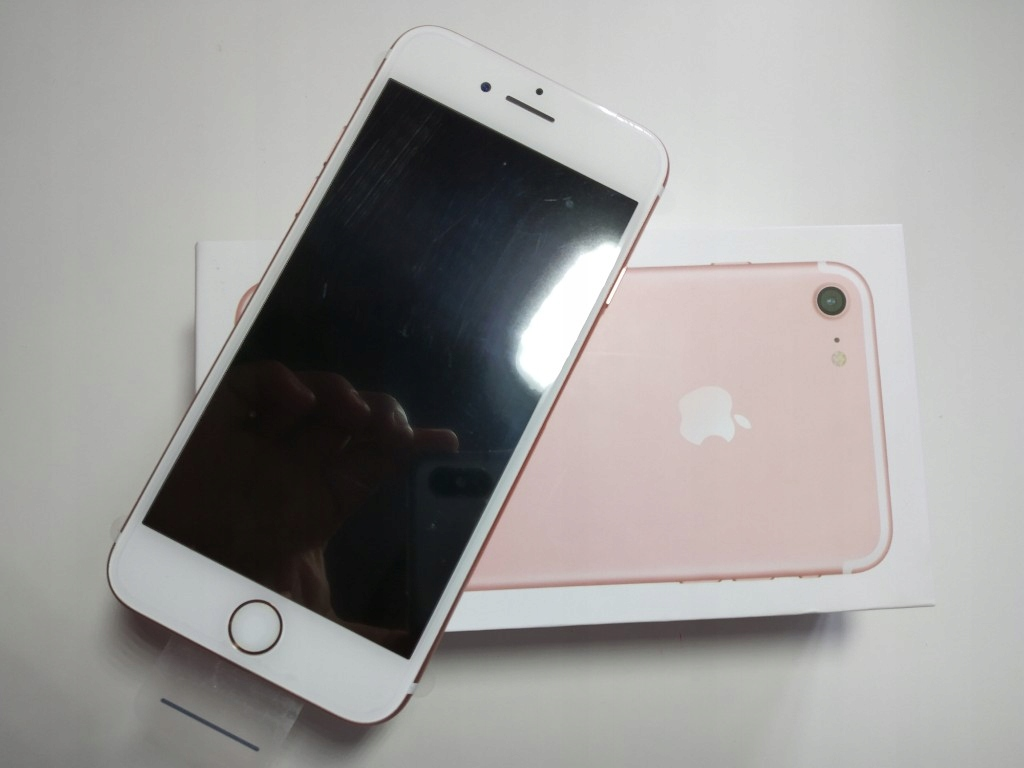 Iphone 7 32 Gb Rose Gold Nowy Folie 7452093254 Oficjalne