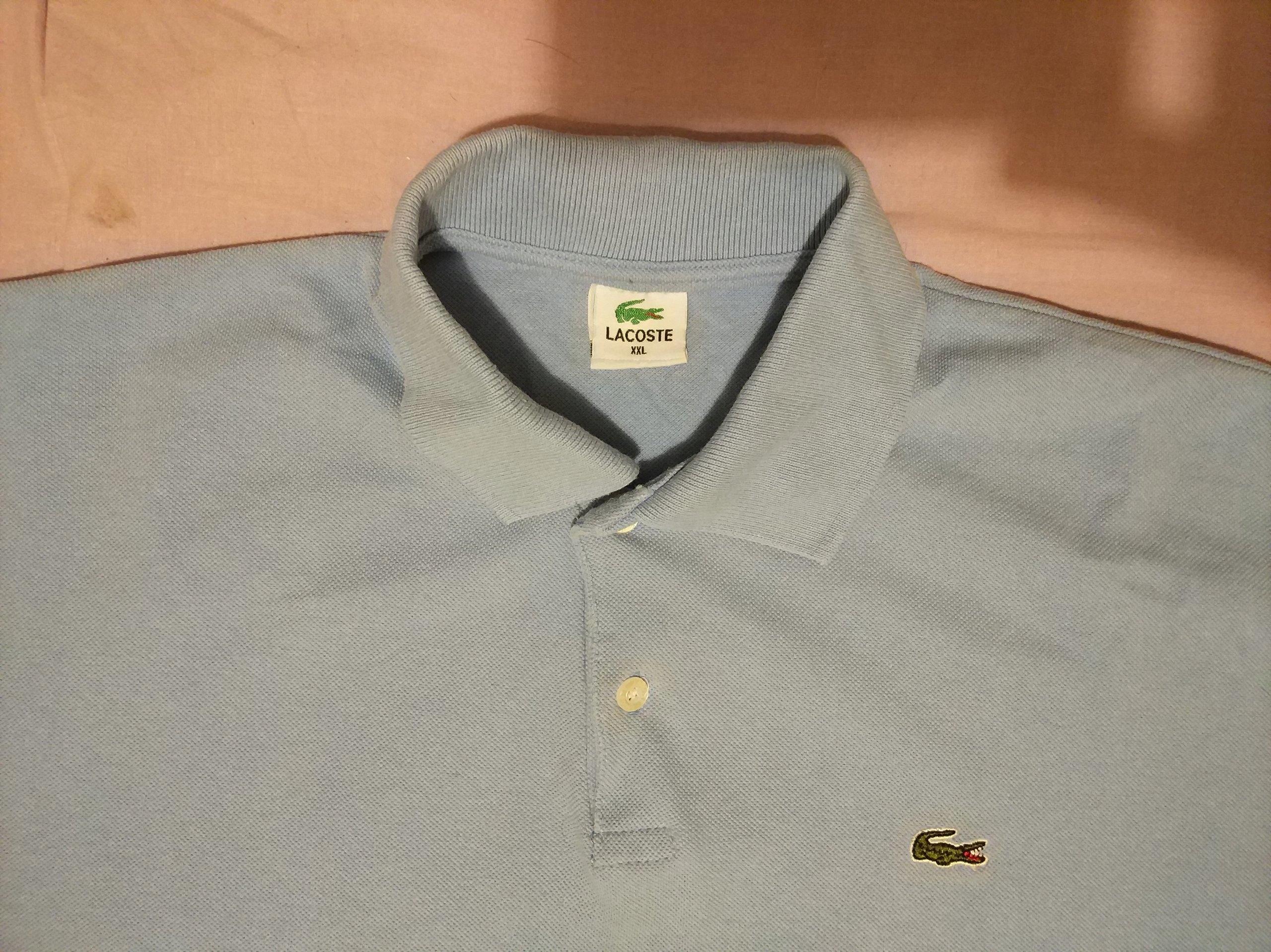 801888be9 Lacoste koszulka polo rozmiar XL/XXL - 7360468391 - oficjalne ...