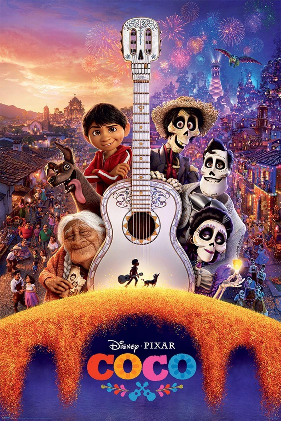 Coco Guitar Plakat Z Bajki 7073882824 Oficjalne