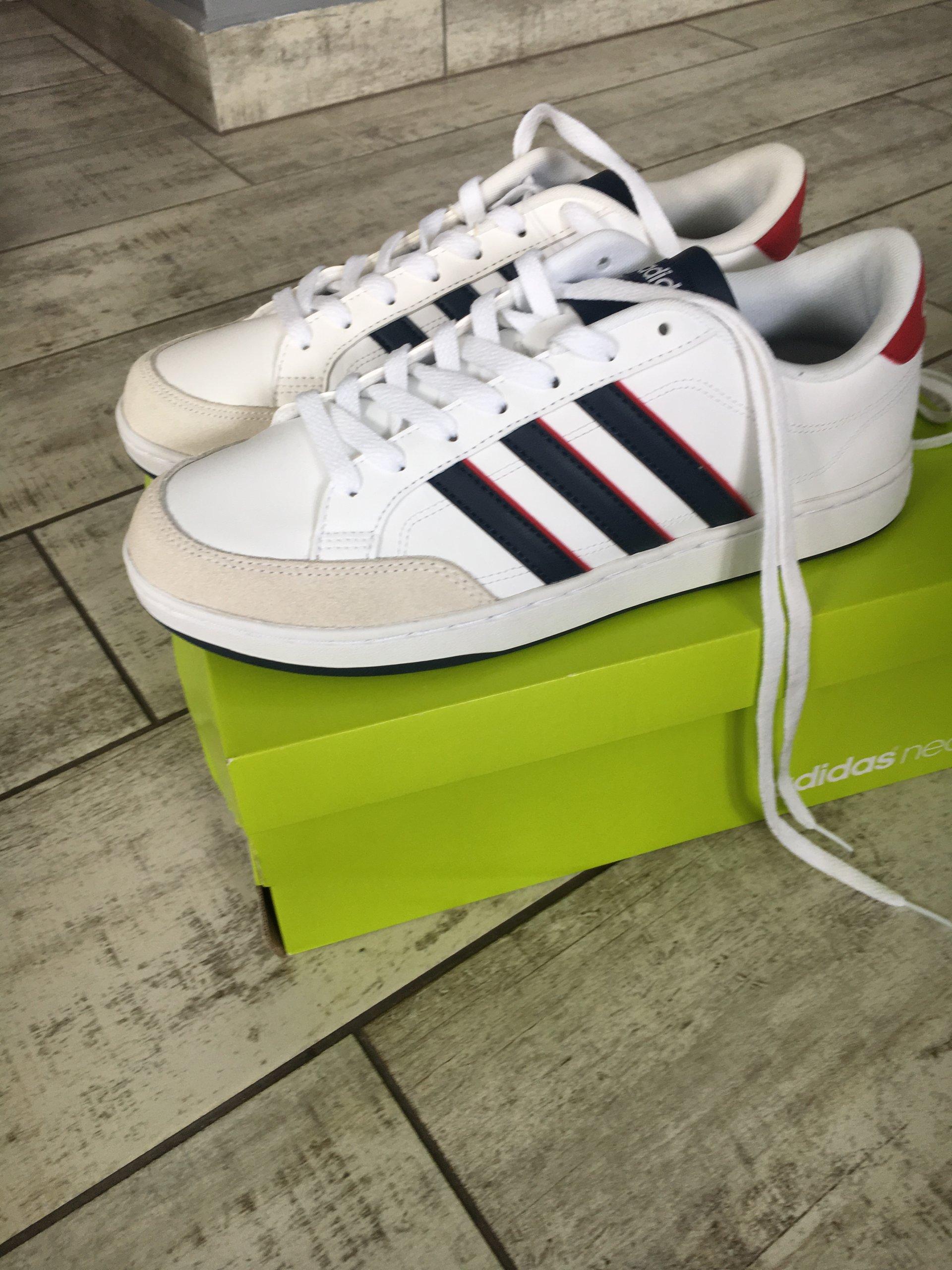 adidas courtset 41 13 nowe meskie białe 7295693991
