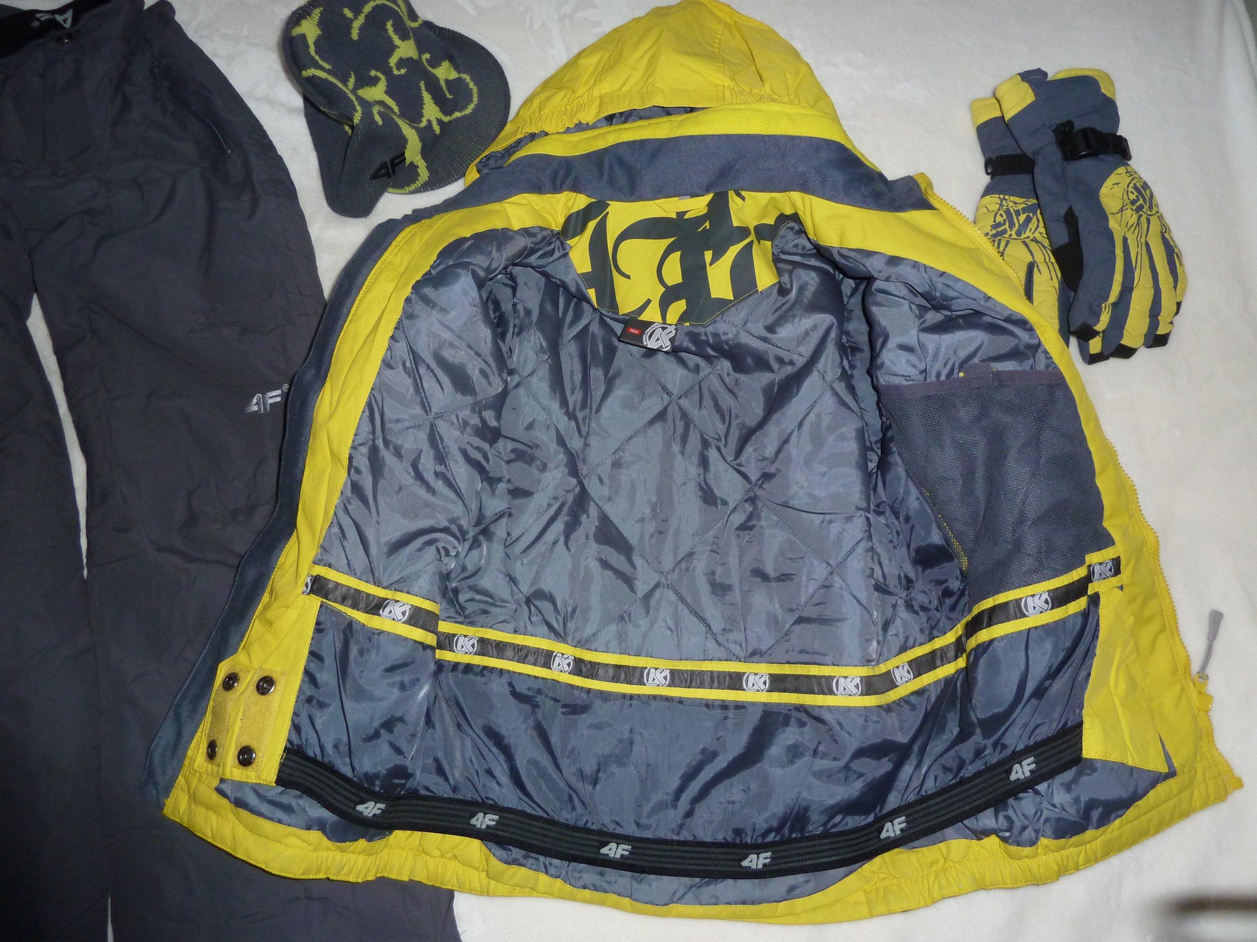 5c91b7af8 Kombinezon 4F 152 cm rękawice i czapka. - 7144116379 - oficjalne ...