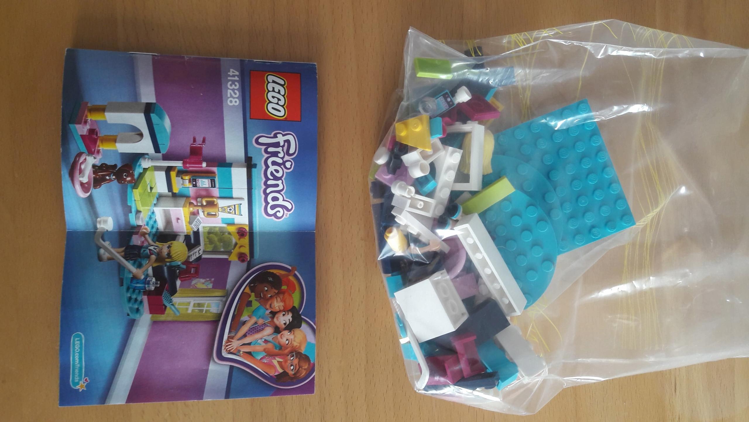 Lego Friends Sypialnia Stephanie 41328 7466044380