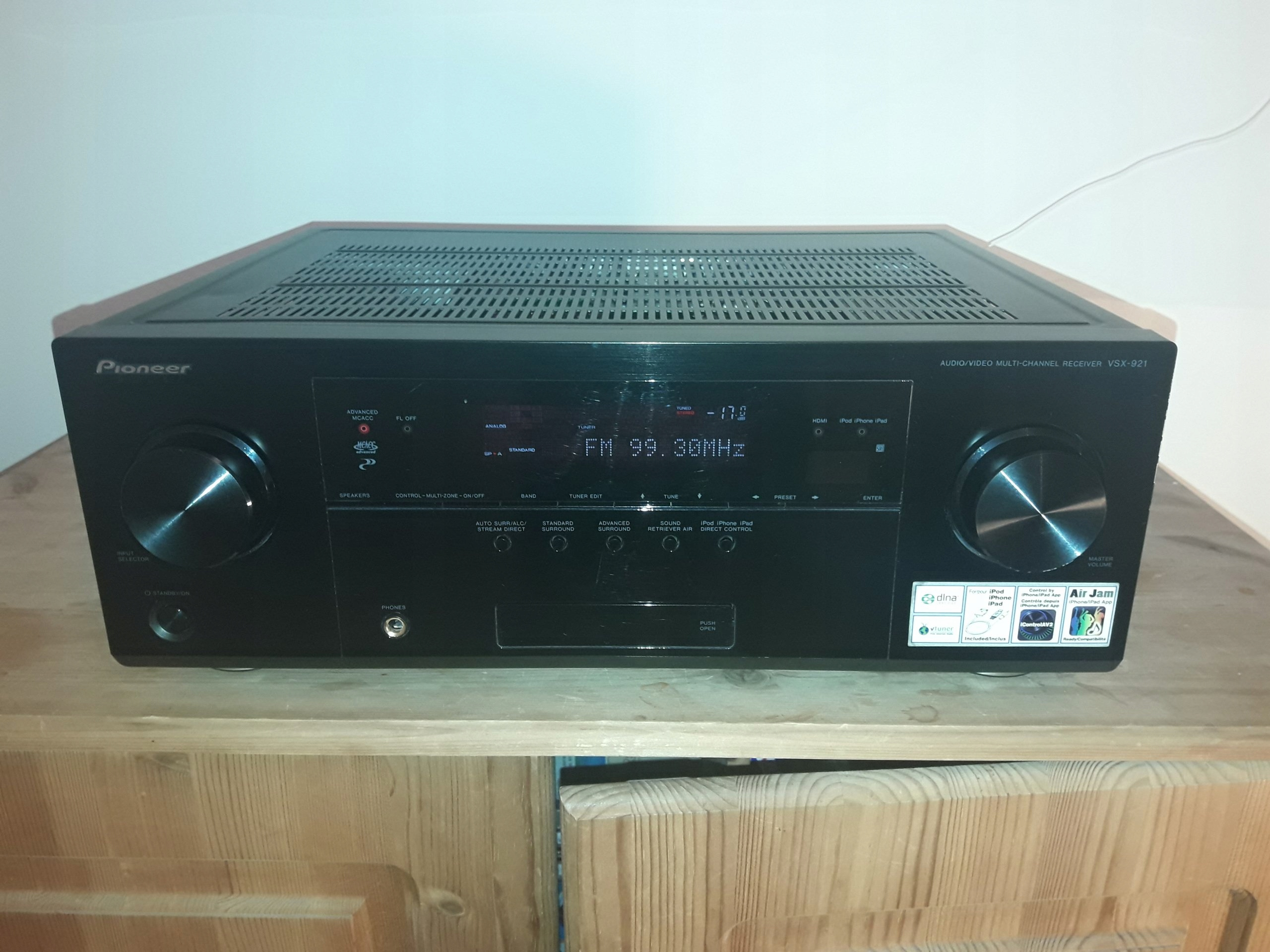Amplituner 91 HD Pioneer VSX 921 K 3D MRGOWO