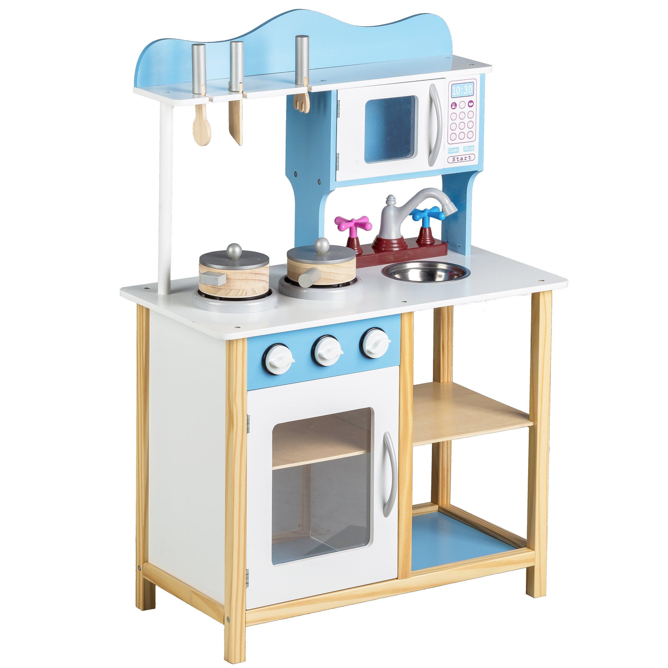 Kuchnia Dla Dzieci Wyposazenie Drewniana Mikro 7181368668