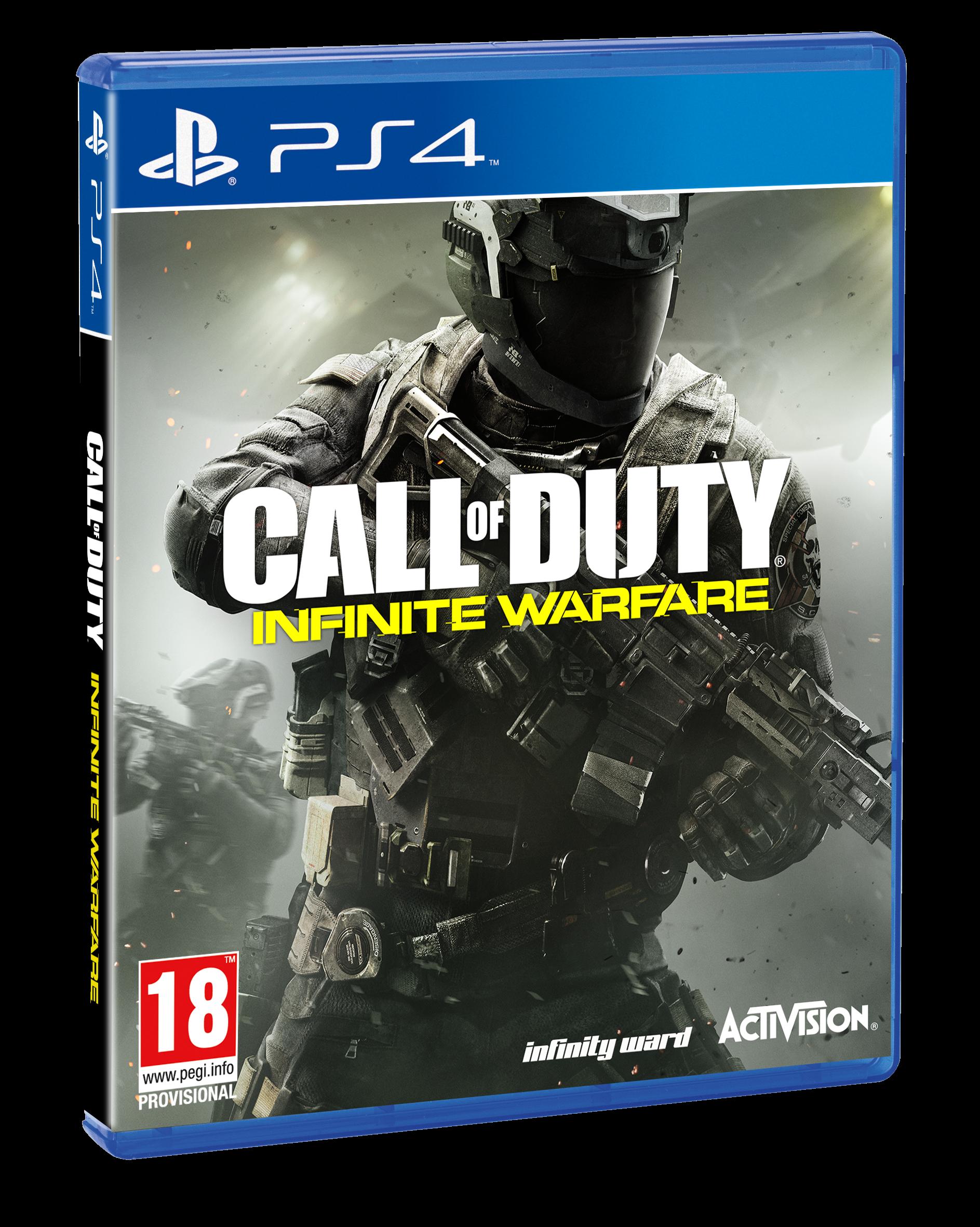 Gra Call of Duty Infinite Warfare PS4 PL FOLIA BOX