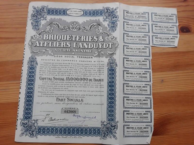 BRIQUETERIES & ATELIERS LANDUYDT