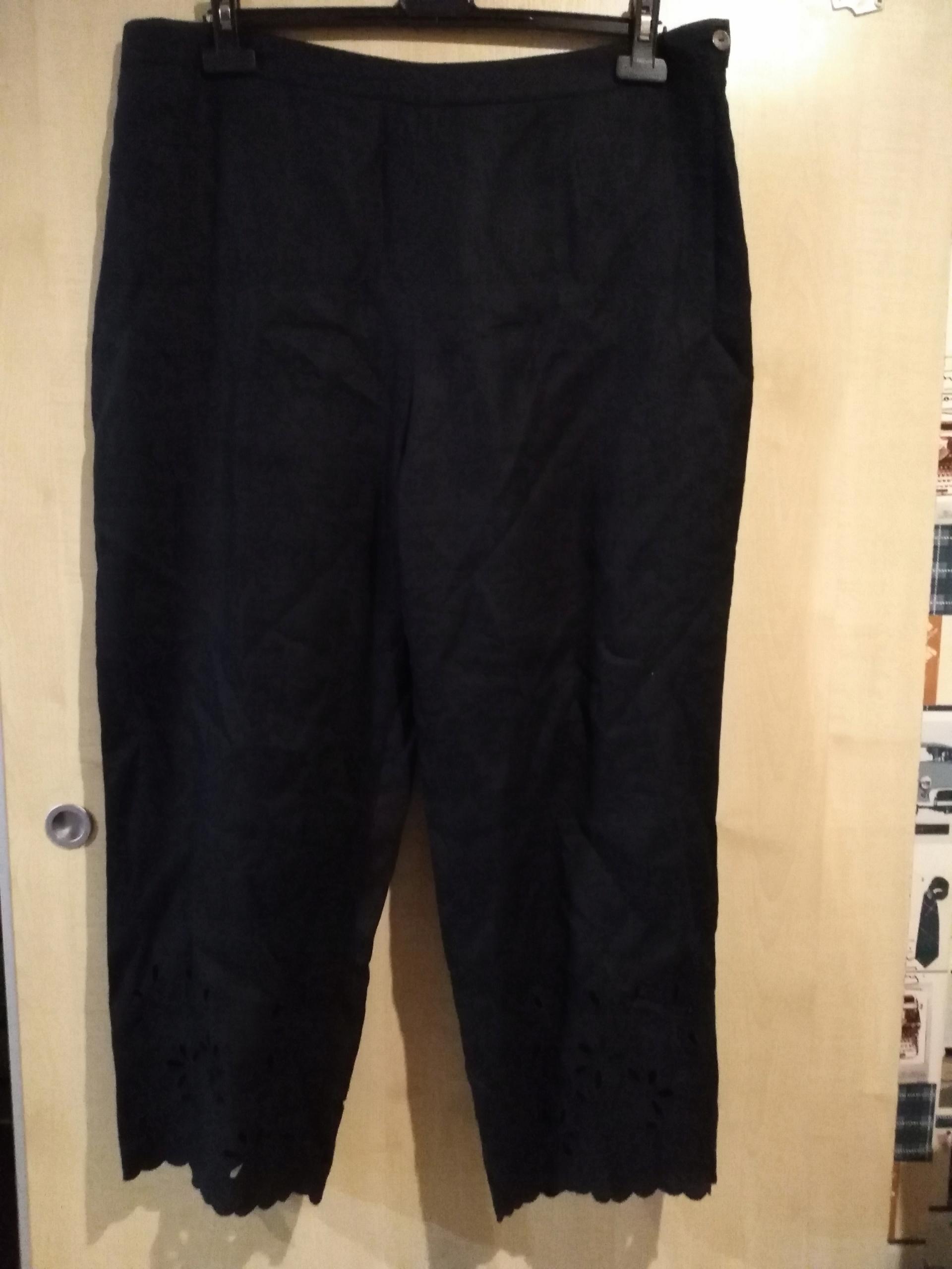 b3d65cbbe2 spodnie czarne nowe rozmiar XXL XXXL - 7639682714 - oficjalne ...