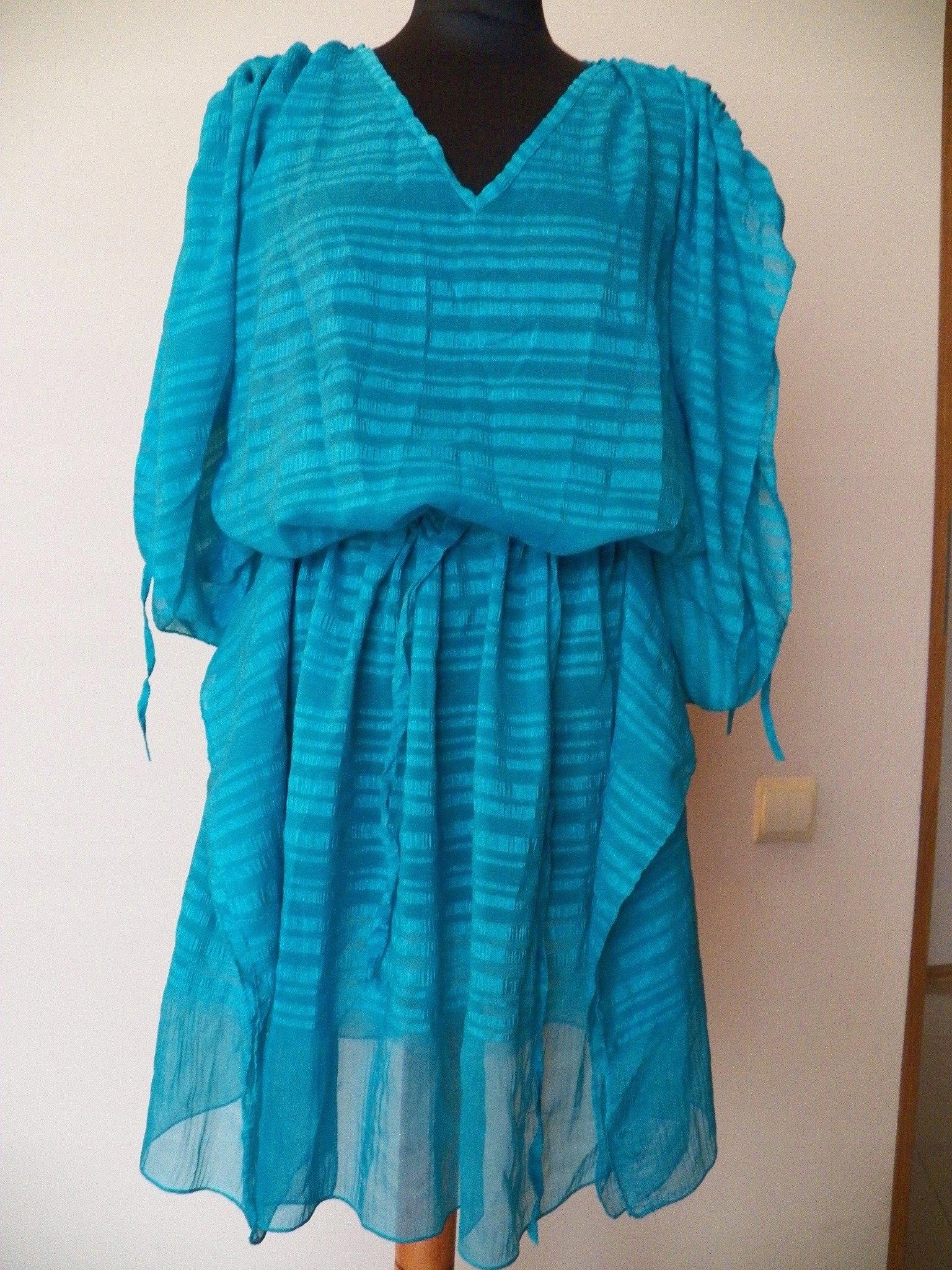 3f91e33c4a Sukienka narzutka na kostium dla puszystej MOTYL - 7439423513 ...