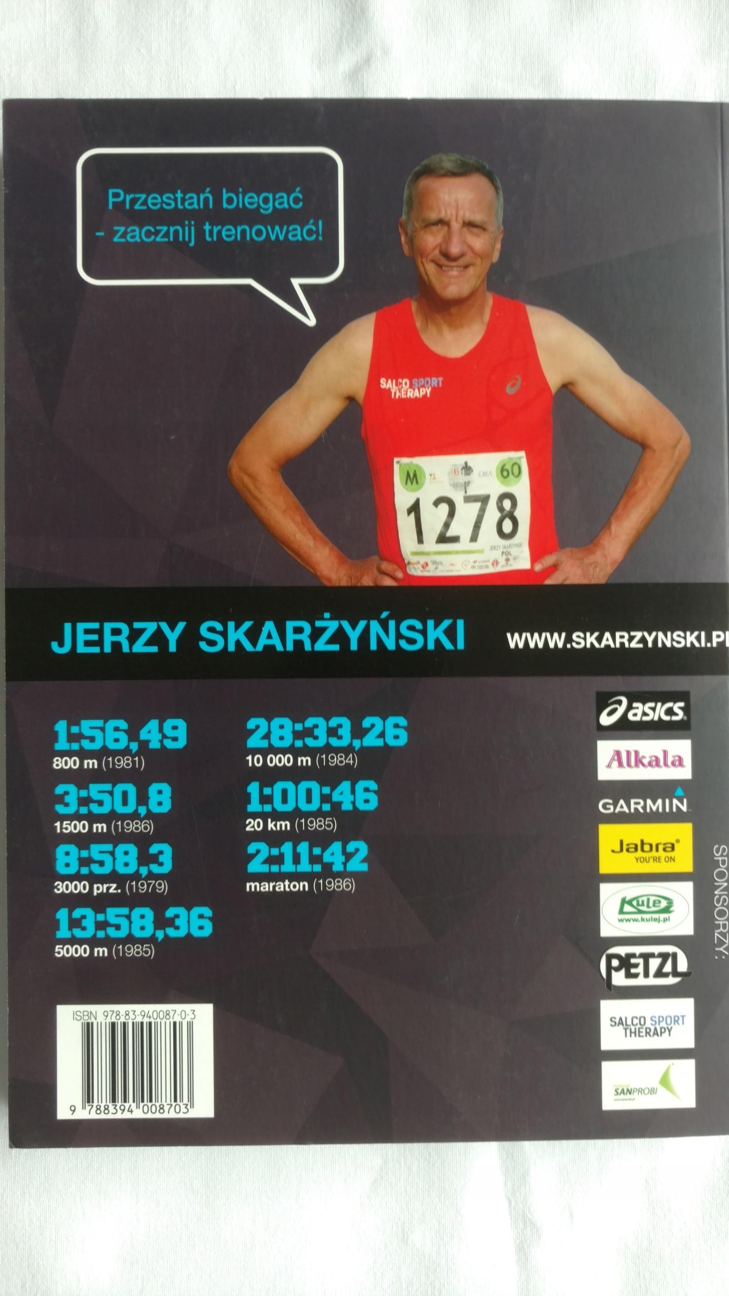 7abdd9de TRENING BIEGOWY METODĄ SKARŻYŃSKIEGO - 7791255192 - oficjalne ...