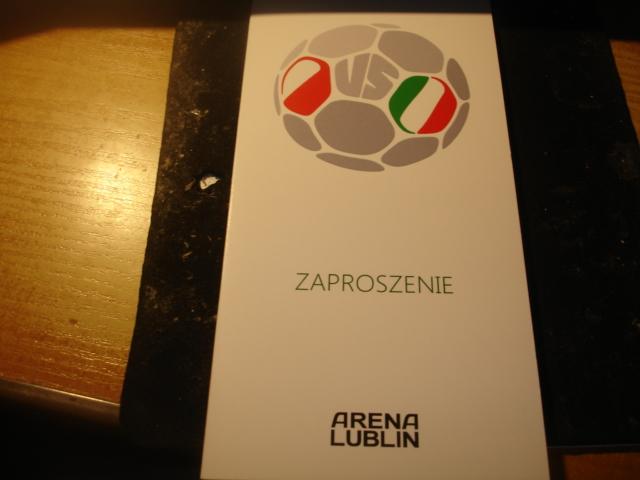 Polska Wlochy U 20 2014 Zaproszenie Lublin 7331574166