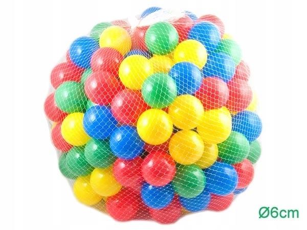 AG184A Piłki plastikowe 200 szt.