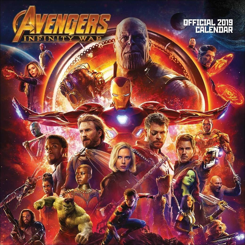 Avengers Infinity War Gratis Plakat Oficjalny