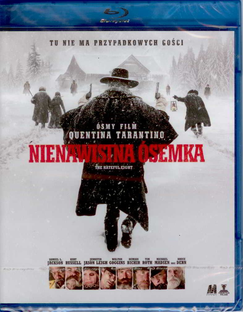 NIENAWISTNA ÓSEMKA [ Quentin Tarantino ] Blu-ray