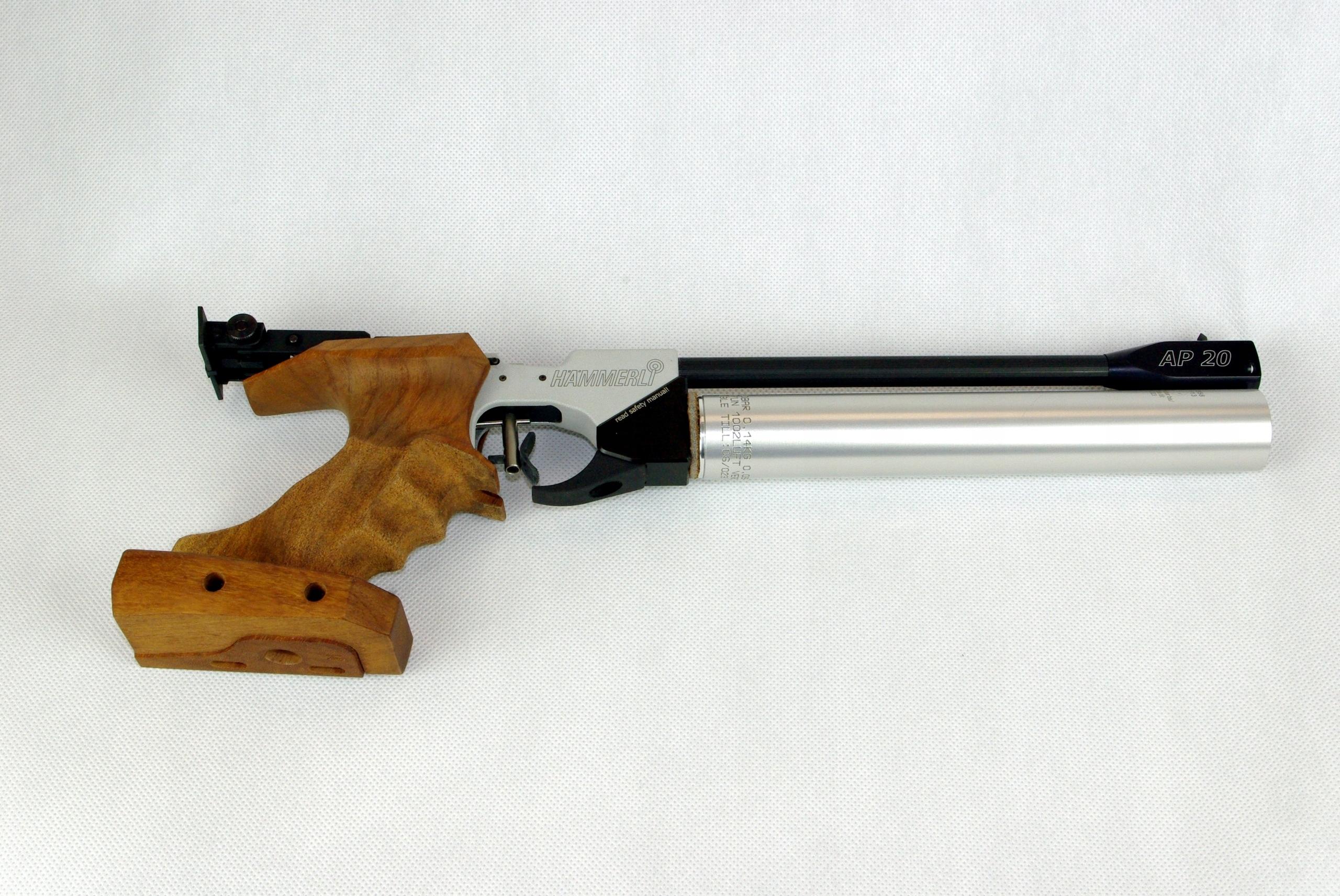Sportowy pistolet tarczowy PCP Hammerli AP20 PRO
