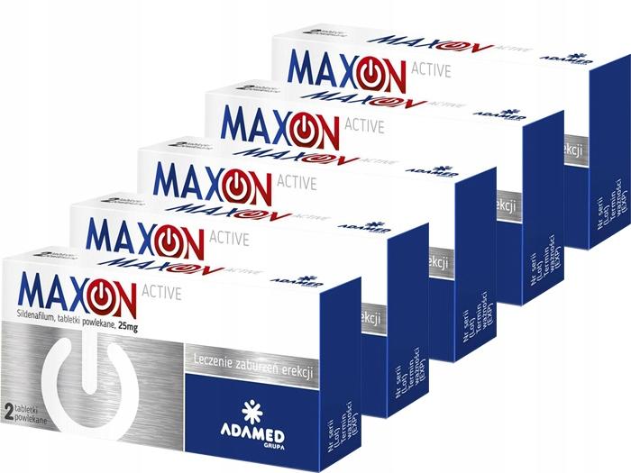 AP MaxOn Active lek potencja erekcja sex 10x