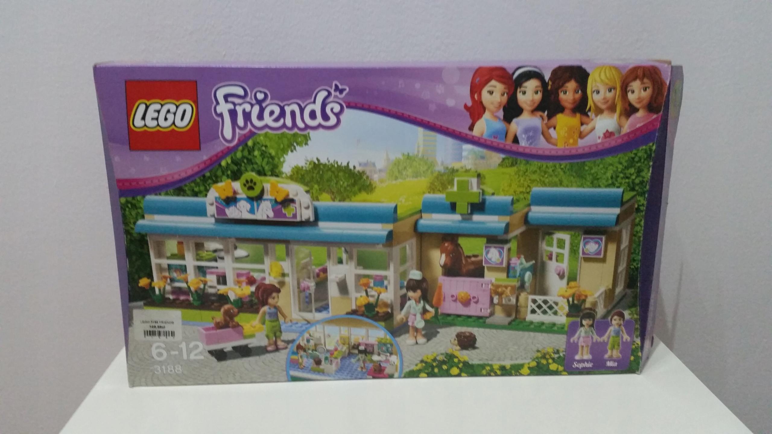 Lego Friends Weterynarz 3188 7708643960 Oficjalne Archiwum Allegro