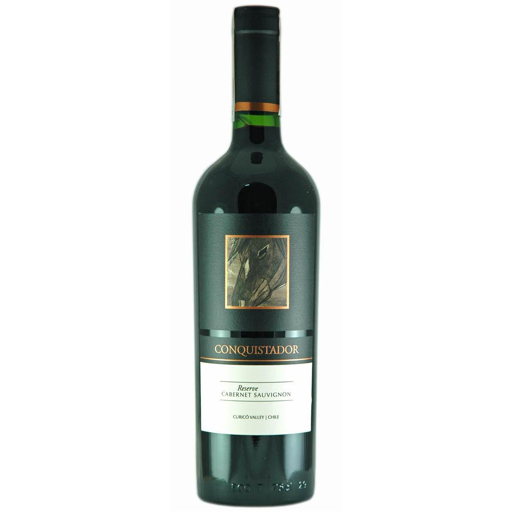 Wino CONQUISTADOR Cabernet Sauvignon RESERVE Chile