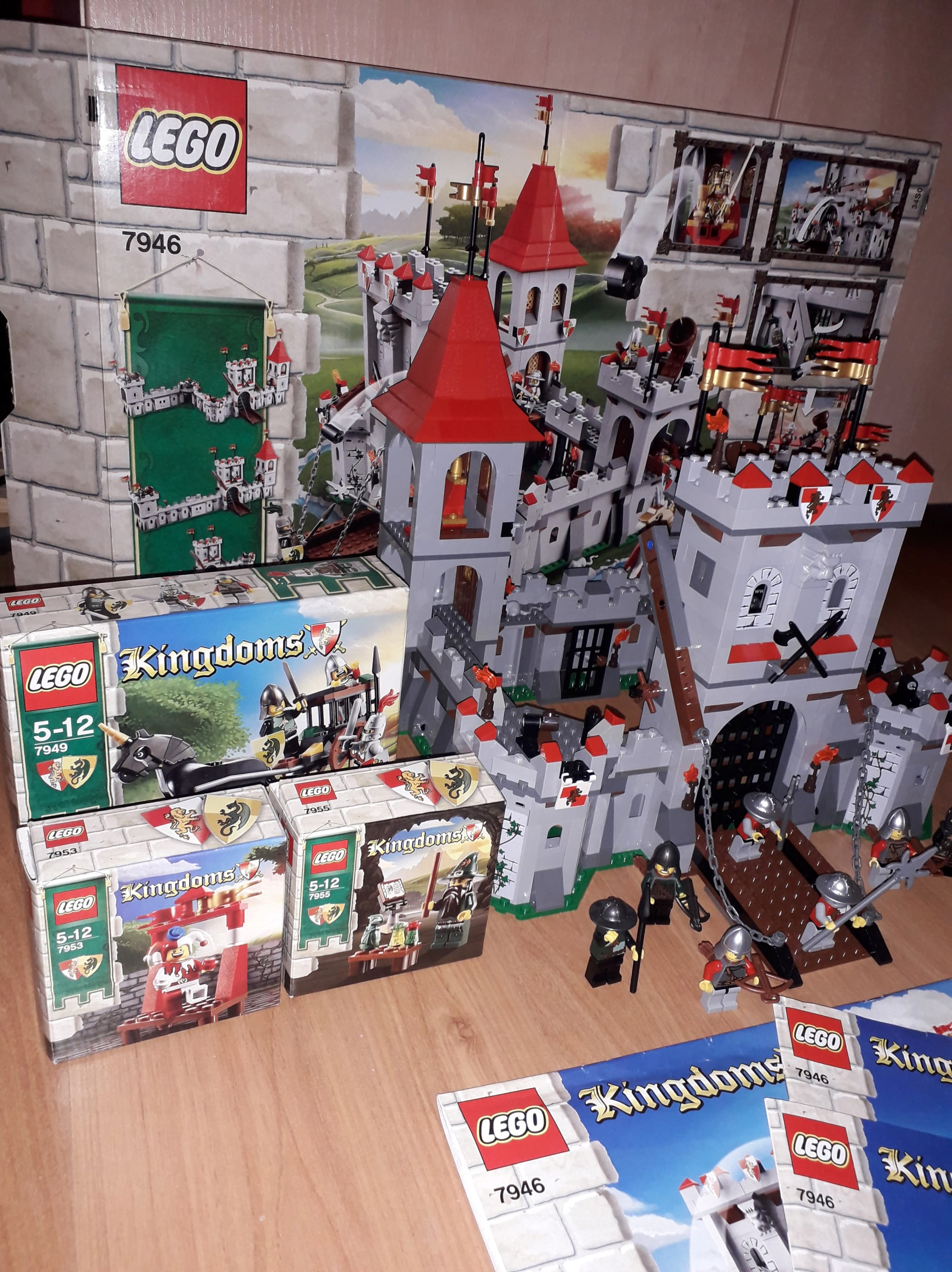 Lego Kingdoms Castle 7946 (Zamek) + Gratisy