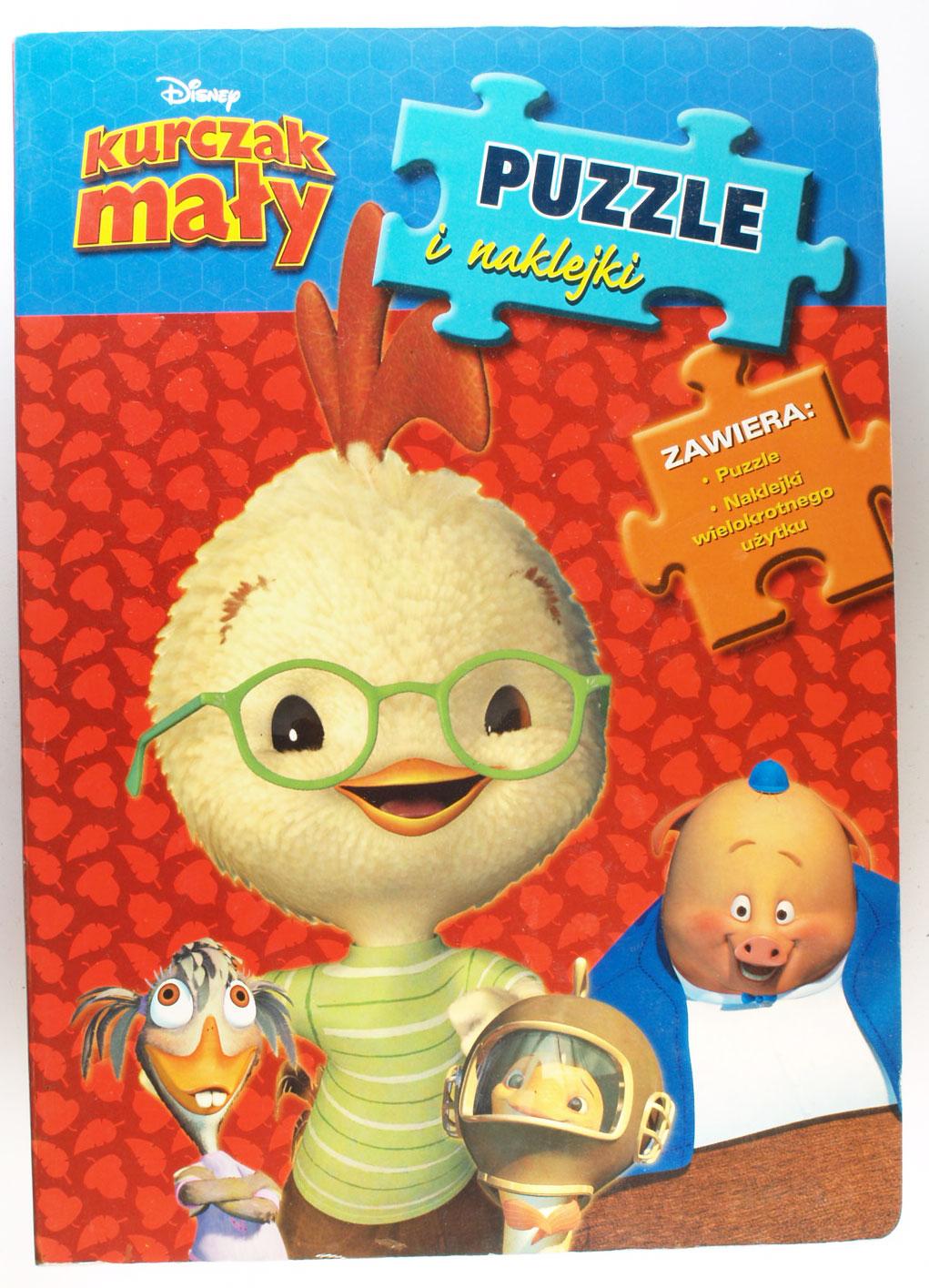 Kurczak Maly Puzzle I Naklejki Disney 7340729916 Oficjalne