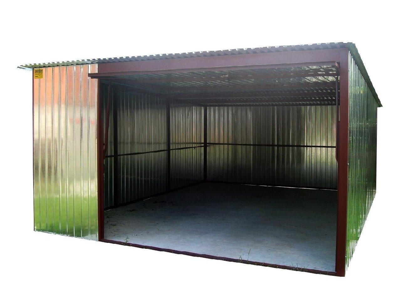 Garaż Blaszak Blaszany 4x6 Brama Pomorskie 7095352321