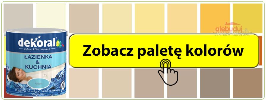 Dekoral łazienka Kuchnia 25l Farba Kolory 6754785459