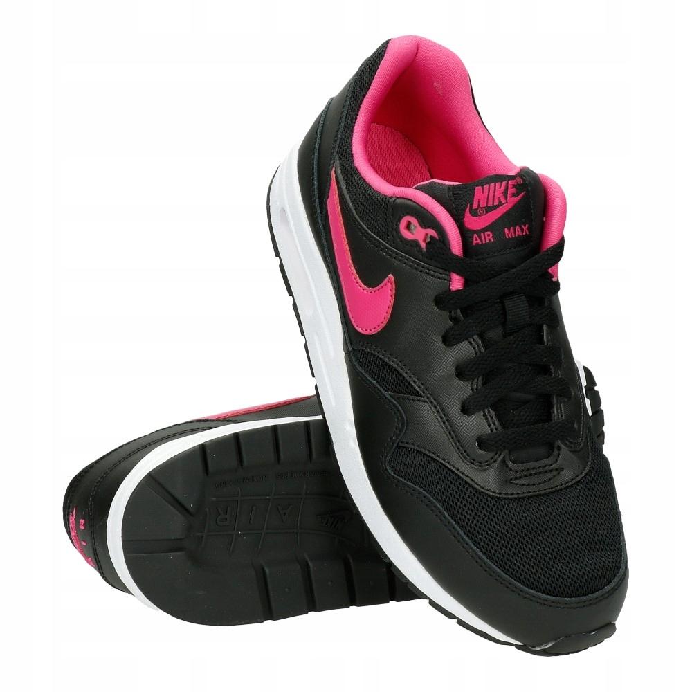 Buty Dziecięce Nike Air Max 1 GS •cena 308,99 zł•Czarne