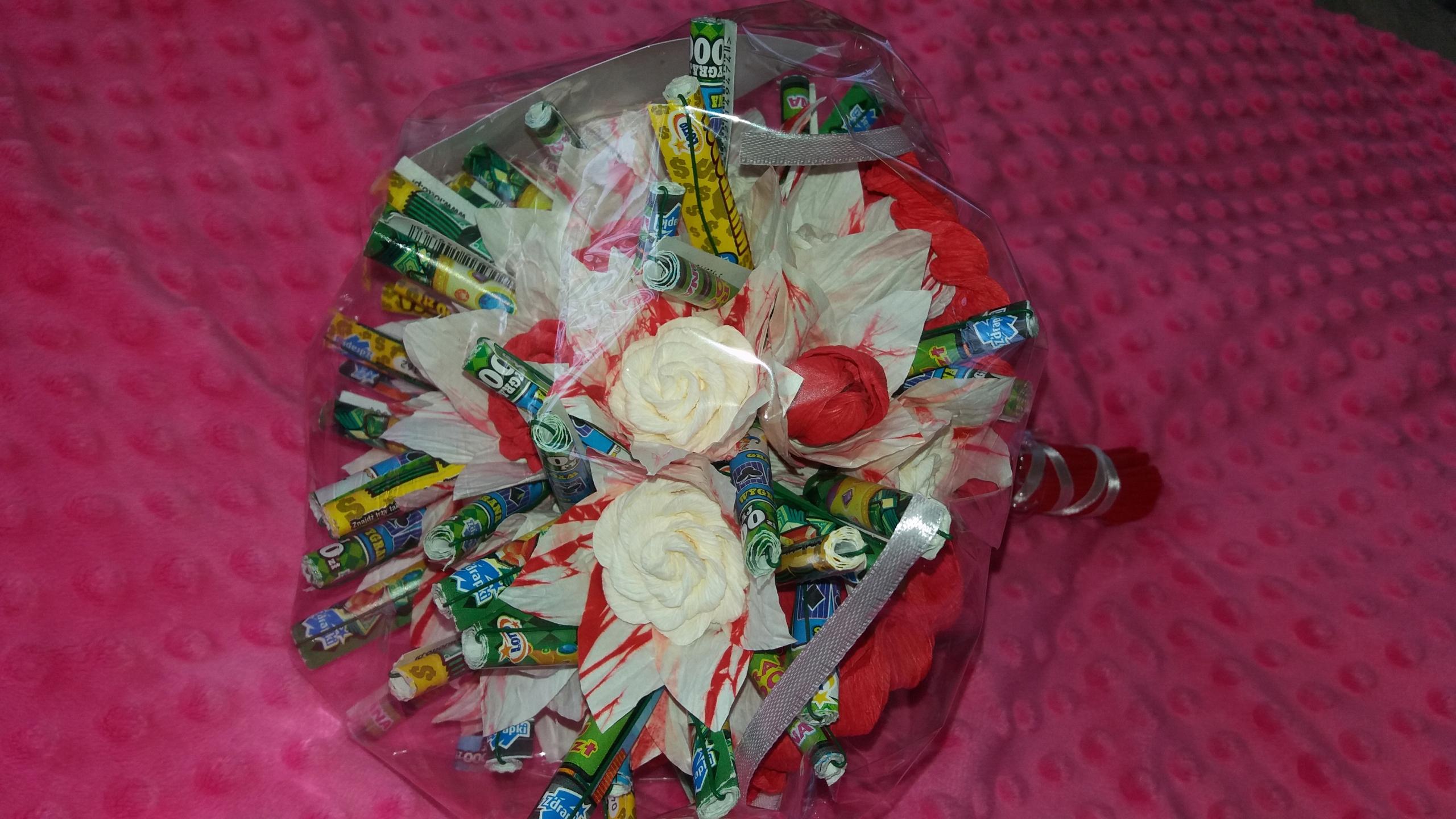 Zupełnie nowe bukiet ze zdrapkami, prezent, ślub, urodziny - 7520301424 DF12