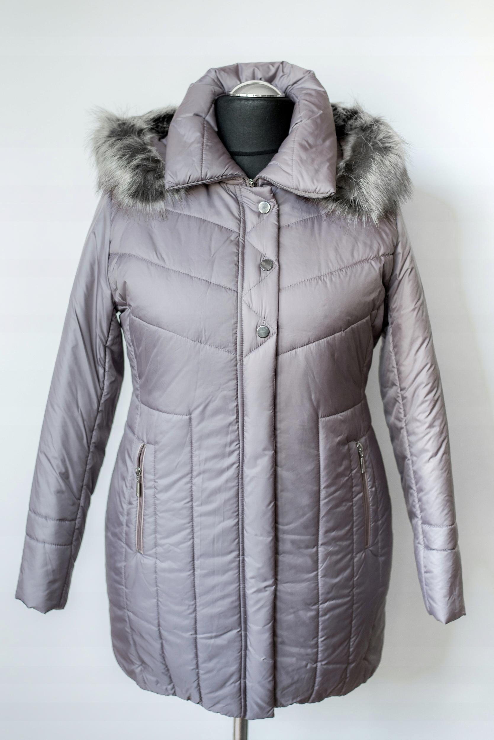 f62ff0f7 Płaszcz damski zimowy roz 44 - 7591017039 - oficjalne archiwum allegro