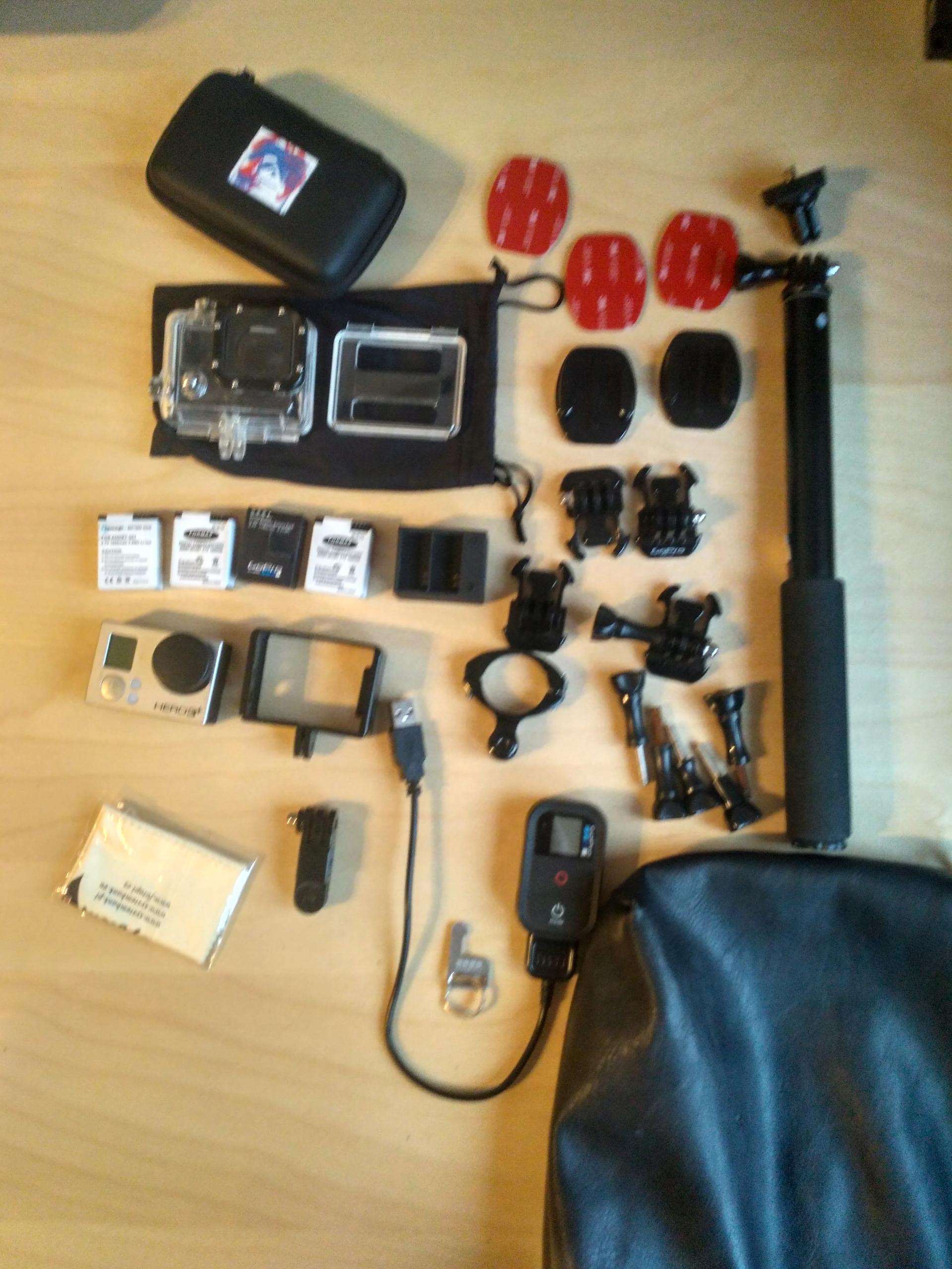 GoPro 3+Black - Akcesoria